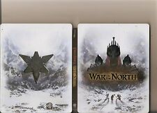 LORD OF THE RINGS WAR IN THE NORTH PLAYSTATION 3 PS3 STEEL BOOK VERSION