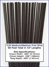 Great Deal on Bulk Guitar Frets/Fret Wire - 1 lb. Medium/Medium Gauge 11-02-01