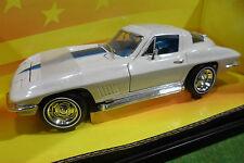CHEVROLET CORVETTE STING RAY 427 1/18 AMERICAN MUSCLE ERTL 32274 voiture miniatu