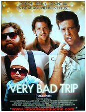 VERY BAD TRIP Movie Poster Affiche Cinéma TODD PHILIPS BRADLEY COOPER 53x40