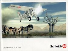 Catalogue SCHLEICH Collection 2010 - Animaux et Figurines miniatures - 178 pages