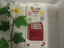 SIZZIX SIZZLITS BABY BLOCK SET 38-9685 NEW NIP *RETIRED* SCRAPBOOKING