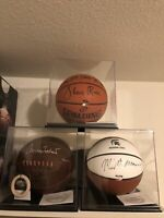 KABOOMBOX!! Basketball,Soccerball, Football Display Case Box w/ Black Base + UV