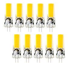 10x 4W G4 Bi-Pin 2W COB-2609 LED RV boat Light Bulb mini Lamp 12-24V White/Warm