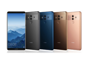 Huawei Mate 10 Pro 128GB Unlocked 4G LTE Android Smartphone Various Colours