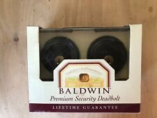 Baldwin 98232.112 Traditional Double Cylinder Deadbolt Venetian Bronze