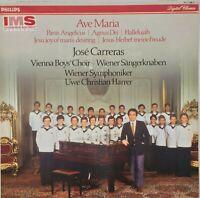 JOSE CARRERAS / VIENNA BOYS CHOIR Ave Maria 1984 Philips Digital EXCELLENT COND