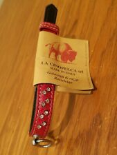 Petego La Cinopelca Dog Collar - Red - Made in Italy