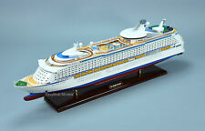 """MS Explorer Wooden Cruise Ship Model 35"""" Scale 1:350 with lights"""