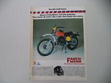 advertising Pubblicità 1976 MOTO FANTIC CABALLERO 125 REGOLARITA' COMPETIZIONE