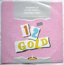 "KENNY G - Hi! How ya doin'? - UK-12""-Maxi > Old Gold"