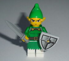 GAME Lego Legend of Zelda Link w/ acc's Custom NEW Genuine Lego Parts