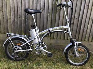 """PowaCycle Puma LPX - 16"""" Wheel - Folding Electric Bike"""