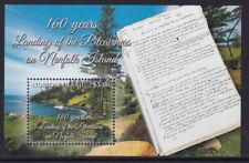 NORFOLK ISLAND PITCAIRNERS 160 YEARS SHEET 2016 MNH