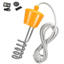 Bathtub Floating Heating Rod Inflatable Pool Water Heater Withled Thermom Au Plug