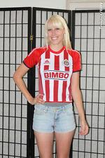 СD Gladalajara Chivas Liga MX Mexico Soccer Jersey - Red/ White-YS