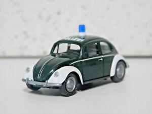 Wiking 86434 HO 1/87  Volkswagen Beetle 1200 Polizei NIB