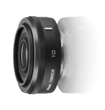 Nikon 1 Nikkor 10mm f/2.8 Wide-Angle Pancake Lens (Black) (White Box) Japan