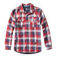 Adidas Snowboarding Long Sleeve Flannel Shirt jacket m31453