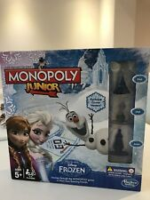MONOPOLY JUNIOR FROZEN Xmas Present - BRAND NEW/SEALED + FREE POSTAGE