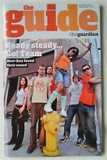 The Go! Team RARE The Guardian UK Guide Magazine October 2005 New