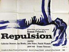 Repulsion Original 30x40 British Quad Movie Poster Catherine Deneuve Rare Horror