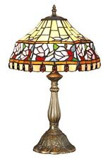 Tiffany Style Stained Glass HandCrafted Table Lamp 12 Inches Wide Medium Size