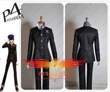 Persona 4 Yasogami High Boys Uniform Cosplay Costume Jacket Shirt Pants Full Set
