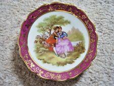 Limoges France collectable porcelain miniature dish