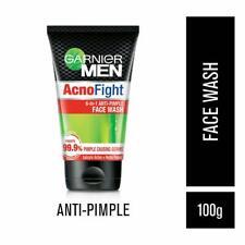 Garnier Men Acno Fight Anti-Pimple Facewash, 100gm FOR ACNE PRONE SKIN (2 Pack)