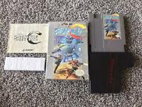 Super C (Nintendo Entertainment System, 1990) NES Complete In Box Cib Authentic