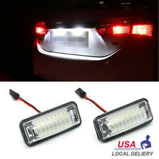 For Subaru Forester Impreza WRX STI XV Crosstrek Legacy LED License Plate Lights