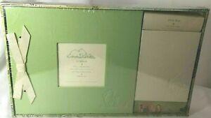 NEW Disney Winnie The Pooh Green Scrapbook & Photo Album Set - Markings