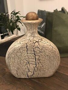 large decorative bottle / vase