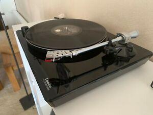 Lenco L-175 Direct Drive LP-Player, Plattenspieler mit Schutzhaube