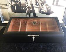 """TOP Humidor, schwarz, inkl.Befeuchter u.Hygrometer, ca 150 Zigarren, """"NEU""""(hum9)"""