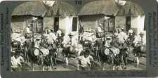 Columbia ~ Barranquilla Donkeys Water Carriers Thatched Roofs 21891 T43 19335 fx