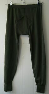British Army Long Johns Olive Thermal Under Trousers Underwear Military Surplus
