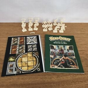 1989 Hero Quest Return Of The Witch Lord Expansion Games Workshop MB Board Game