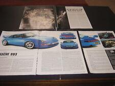 Rolls Royce Silver Ghost engine article & Porsche 993 article reg M3RSR