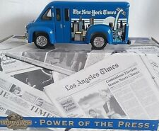 Matchbox  YPP04 POWER OF THE PRESS DODGE ROUTE VAN NEW YORK TIMES