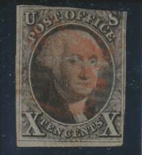 USA 1847, 10c Washington #2 space-filler