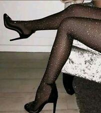 Netz strumpfhose mit strass Pantyhose Damen Strumpfhose  mit strass Neu