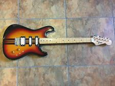 Greco Stratocaster HSS Electric Guitar Striped MIJ Japan Vintage RARE