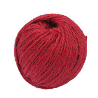 50mx1.5mm Twisted Burlap Jute Twine Rope Cord String DIY Gift-wrapping Red New