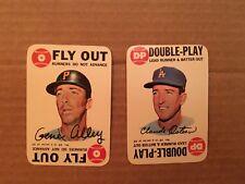 1968 Topps Baseball Game cards