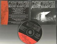 BEN HARPER Live SAMPLER w/ RARE EDIT 6TRX PROMO CD the Verve Led Zeppelin trx