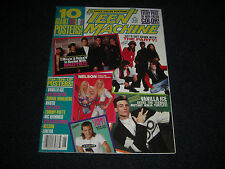 Kiss Nelson Nkotb, Donnie Wahlberg 1991 Teen Machine 10 Posters 16 by 21