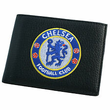 Chelsea FC Official Football Gift Embroidered Wallet Black