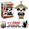 FUNKO POP KUNG FU PANDA PO WITH HAT VINYL FIGURE + FREE POP PROTECTOR
